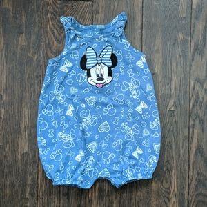 3/$15 Minnie Mouse Disney Romper